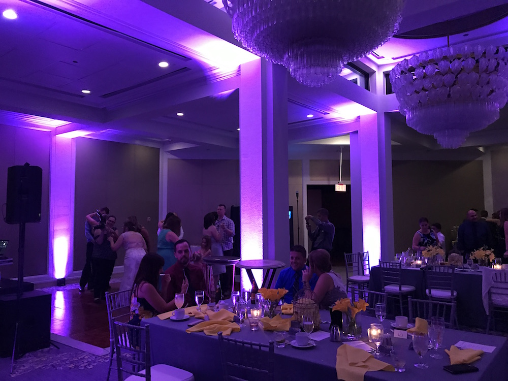 event lighting in Orlando