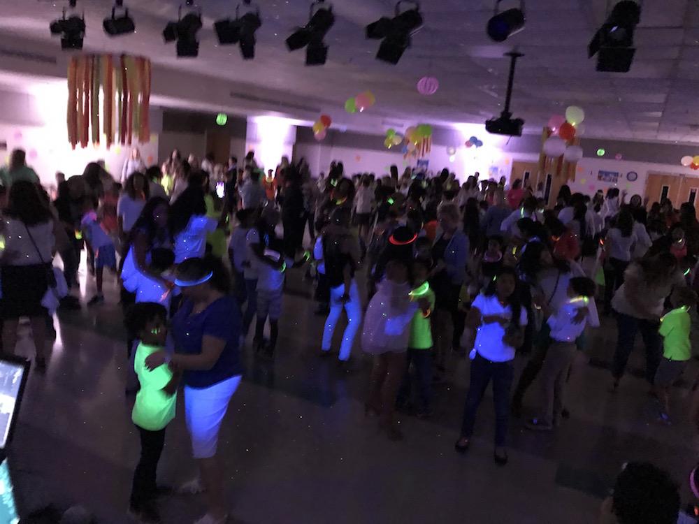 Black light parties